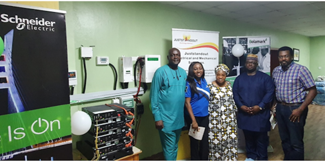 Schneider Electric, JustStandOut, others donate solar inverter to Hearts of Gold Children's Hospice, Lagos